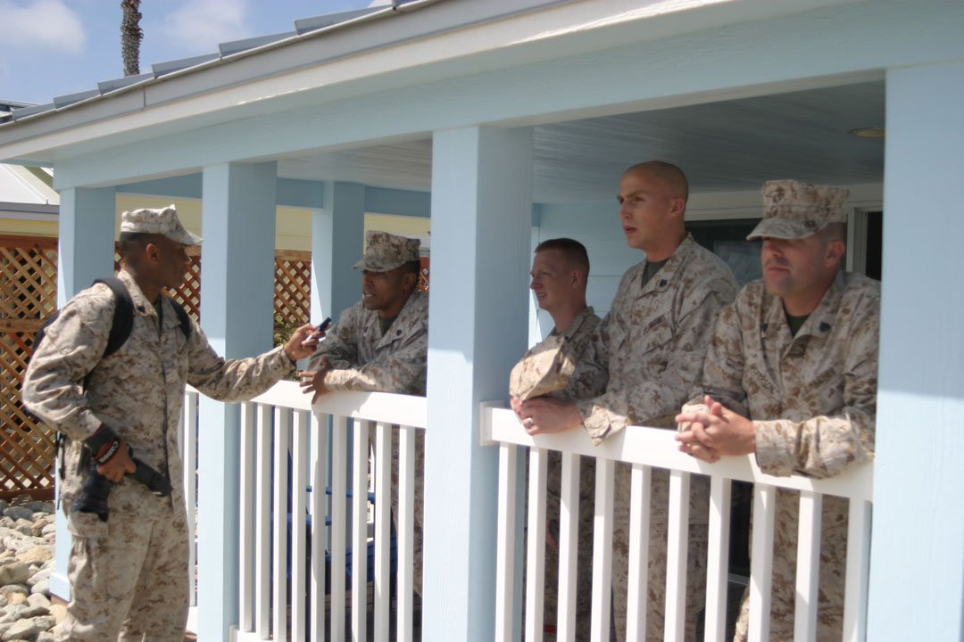 New Cottages At Camp Pendleton Beach Facilitated By The Victory Fund