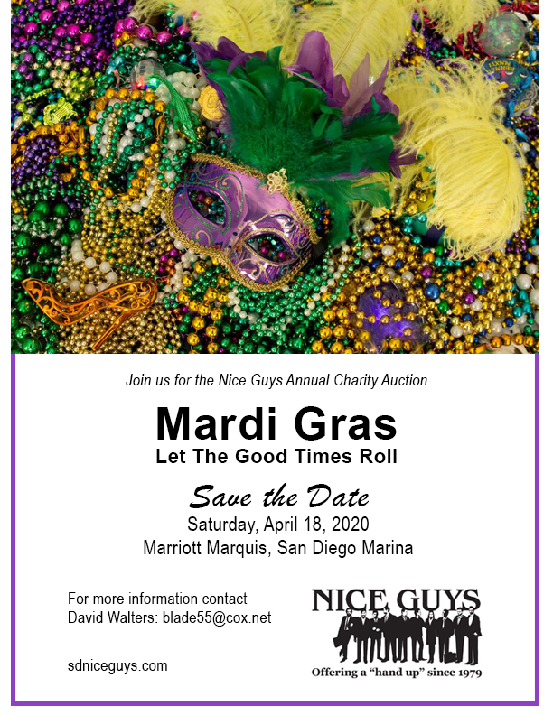 Save the Date - Mardi Gras